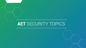 Announcement AET Security Topics